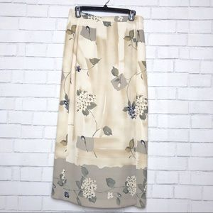 Chaus Floral Long Skirt
